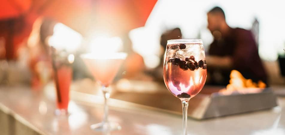 Drinks on Grand Terrace Bar | Davenport Grand