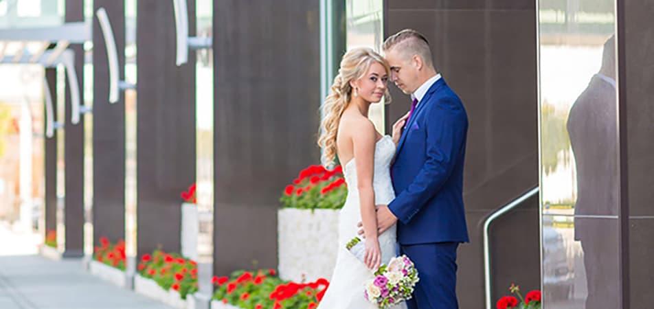 Bride and groom | Davenport Grand