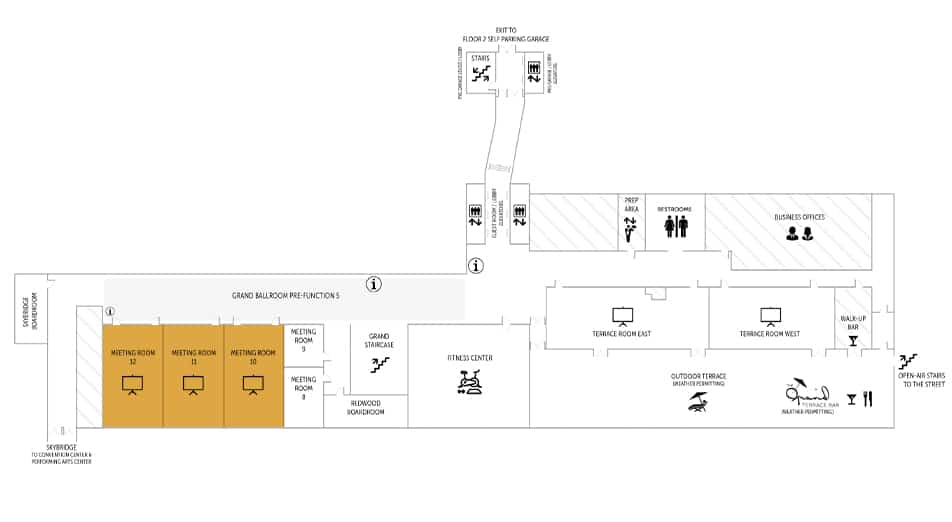 Meeting Rooms 10-12 Floorplan   Davenport Grand