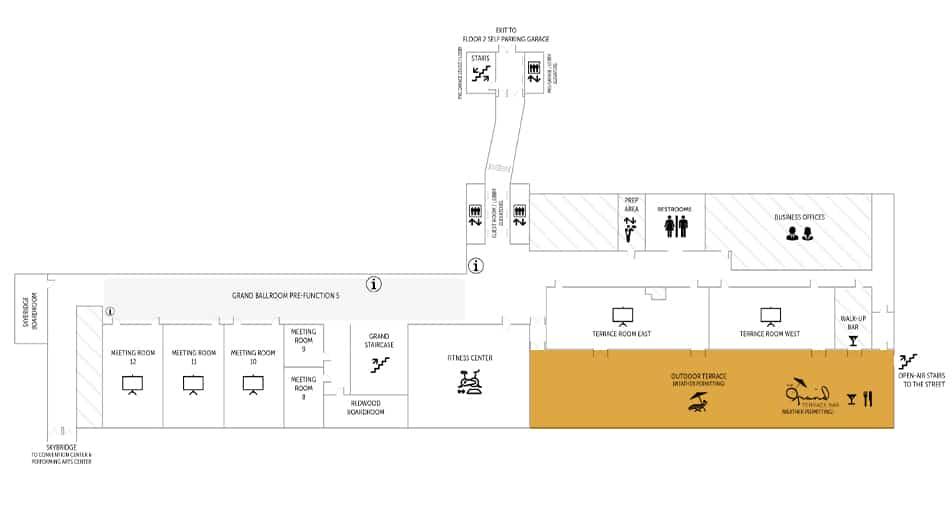 Davenport Grand | Terrace Floorplan