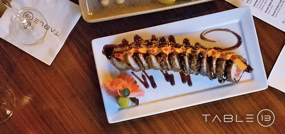 Davenport Grand | Table 13 | Food