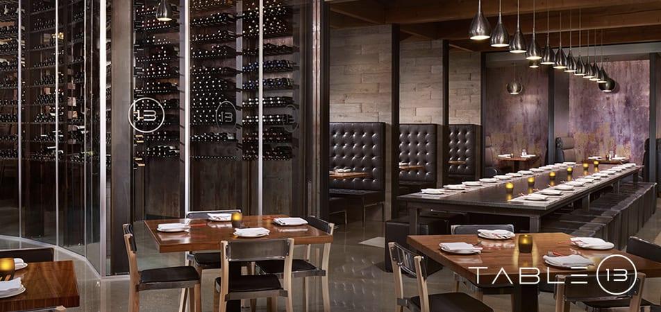 Davenport Grand | Table 13 restaurant Tables