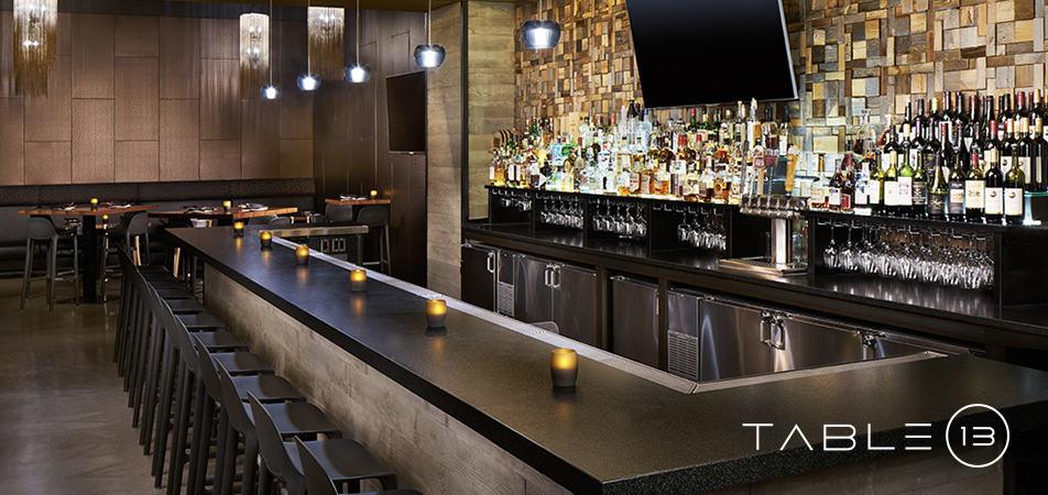Davenport Grand Table 13 Restaurant bar top