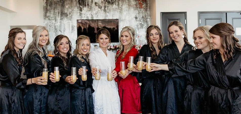Davenport Grand | Bride and Bridesmaids