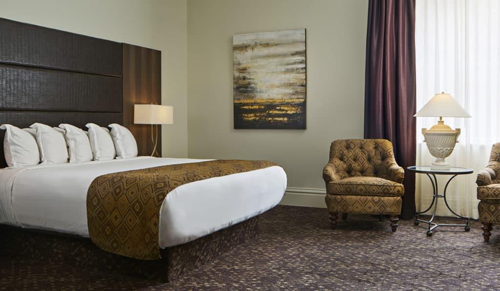 Davenport Lusso Deluxe room Bedroom