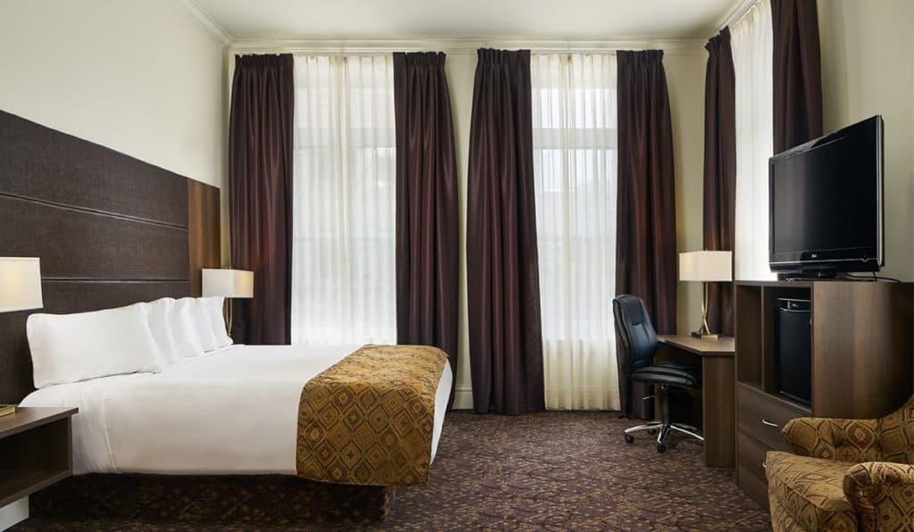 Davenport Lusso Standard room Bedroom