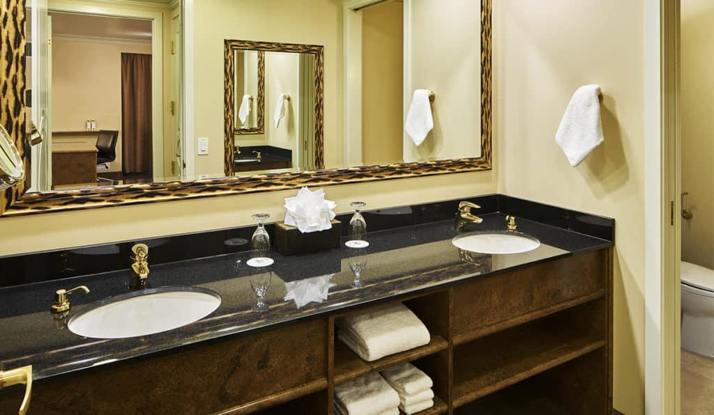 Davenport Tower Suite Bathroom