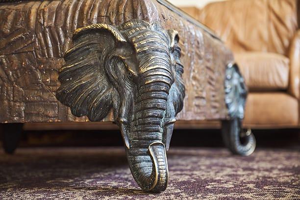 Davenport Tower | Safari Room | Elephant Table