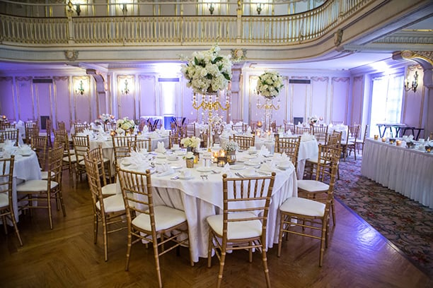 Event/Wedding Hall | Decorated for Wedding