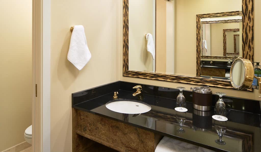 Bathroom | Standard Room | Davenport Tower