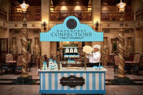 Confections Peanut Brittle Cart | Historic Davenport