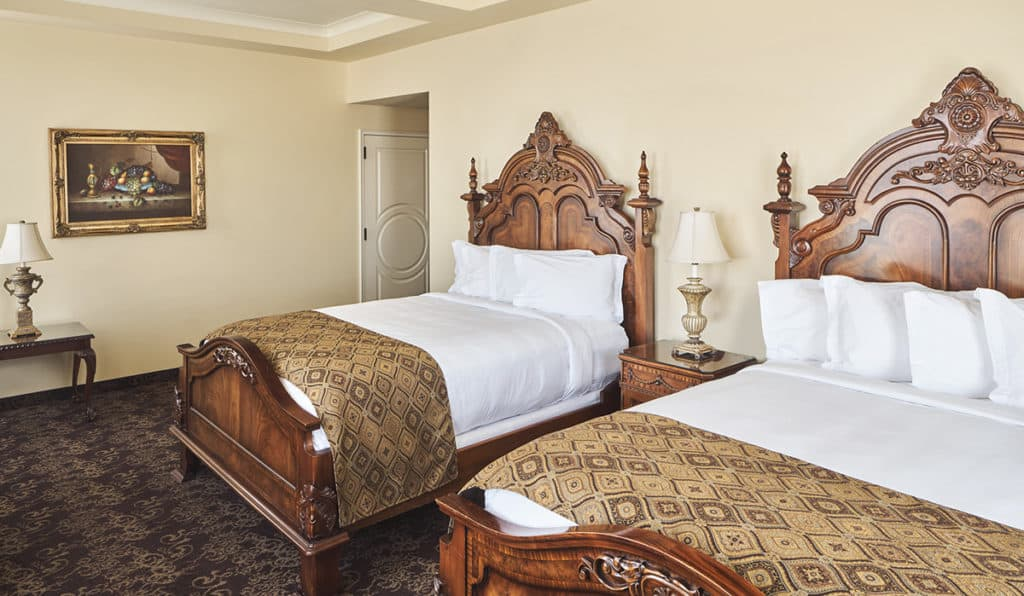 Superior Room- two queen bed | Historic Davenport