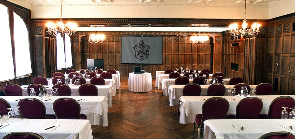 Elizabethan Event Hall   Historic Davenport   long tables