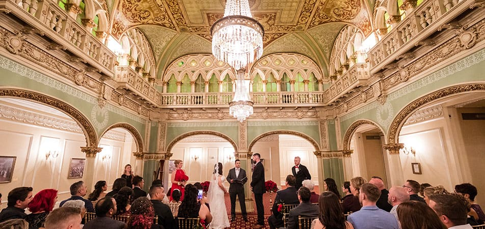Hall of Doges| Wedding ceremony | Historic Davenport