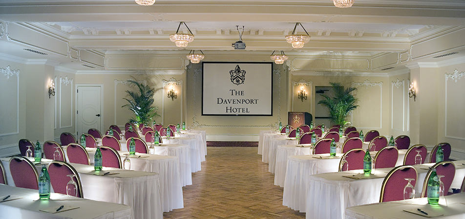 Early Bird Event Hall with Chairs and Tables | Historic Davenport