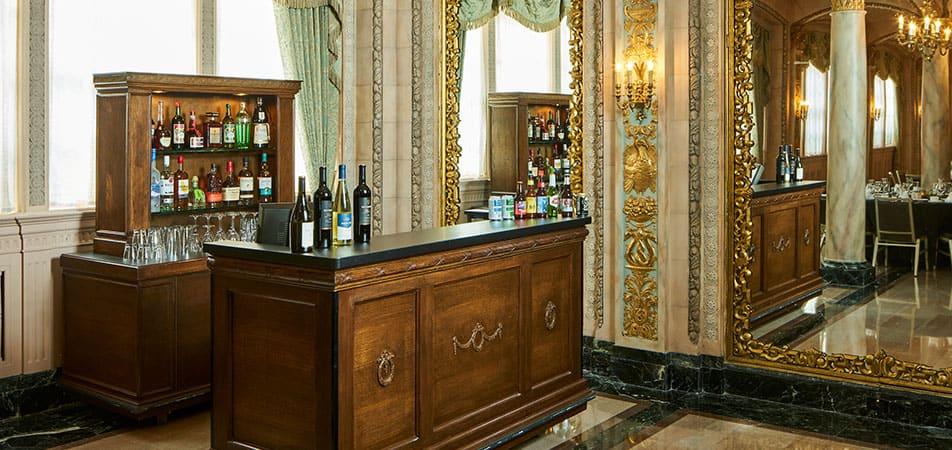Small Bar in Ballroom | Historic Davenport