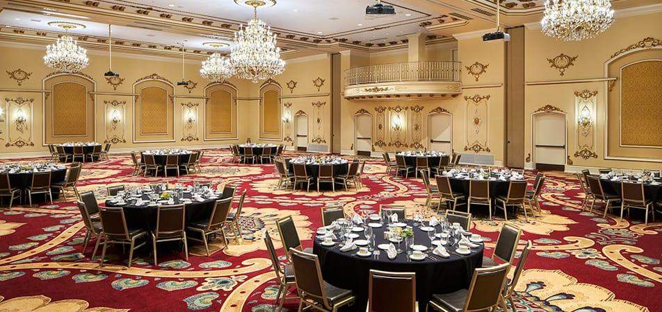 Grand Pennington Ballroom | Historic Davenport