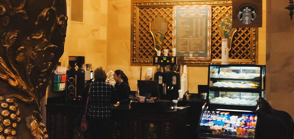In Lobby Cafe | Historic Davenport