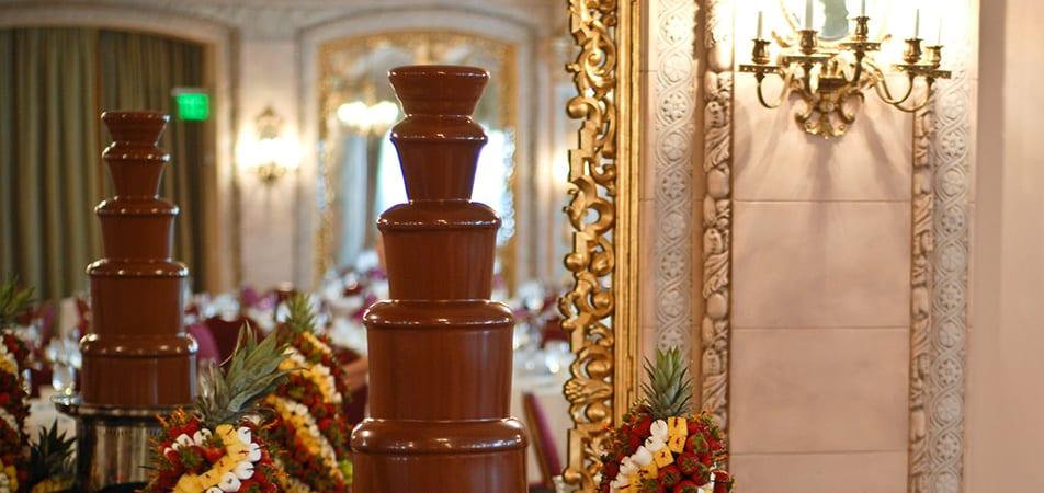 Chocolate Fountain | Historic Davenport