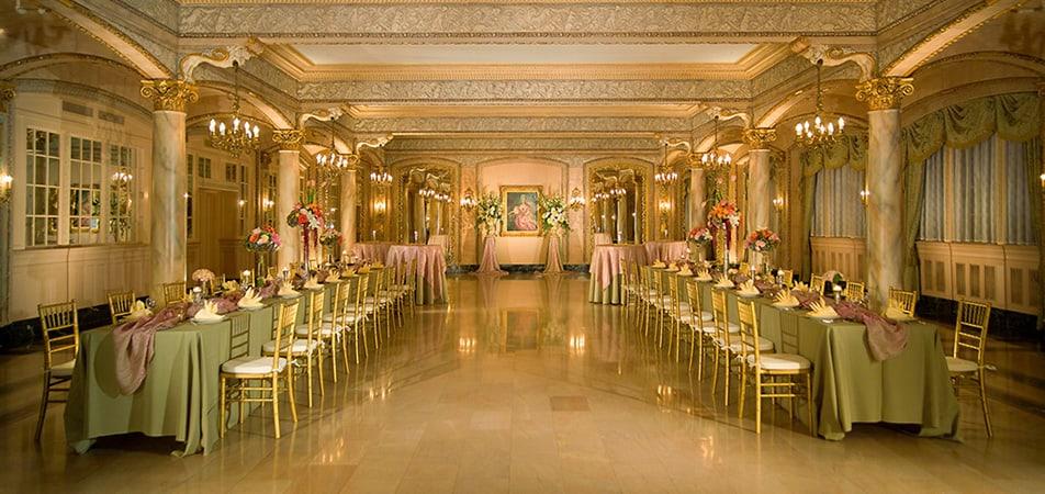 Isabella Room - green   Event/Wedding   Historic Davenport