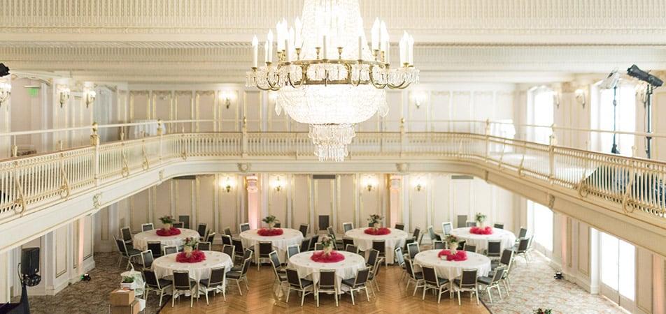 Marie Antoinette Event Room | Historic Davenport