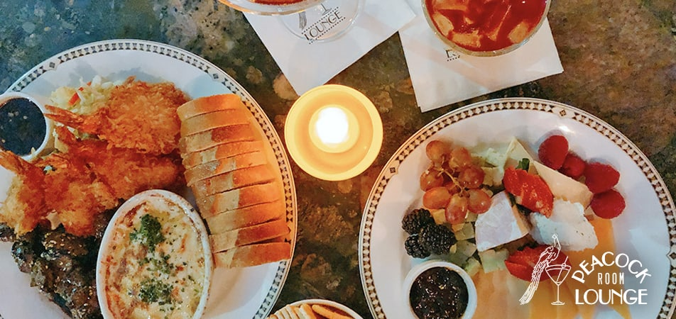 Food Peacock Lounge | Historic Davenport