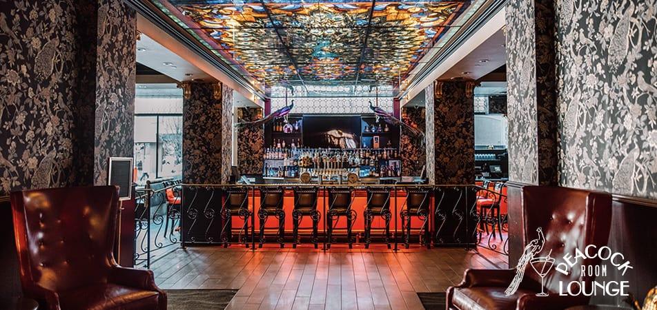 Peacock Lounge Bar top| Historic Davenport