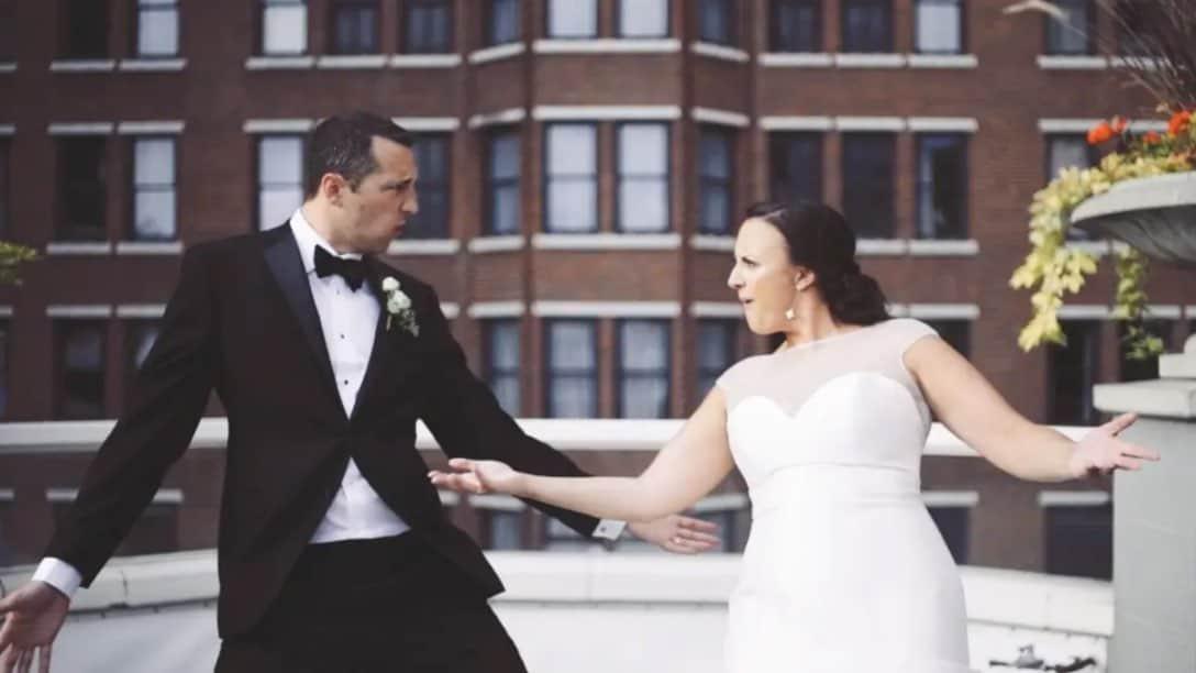 Wedding Video | Historic Davenport | Bride and Groom