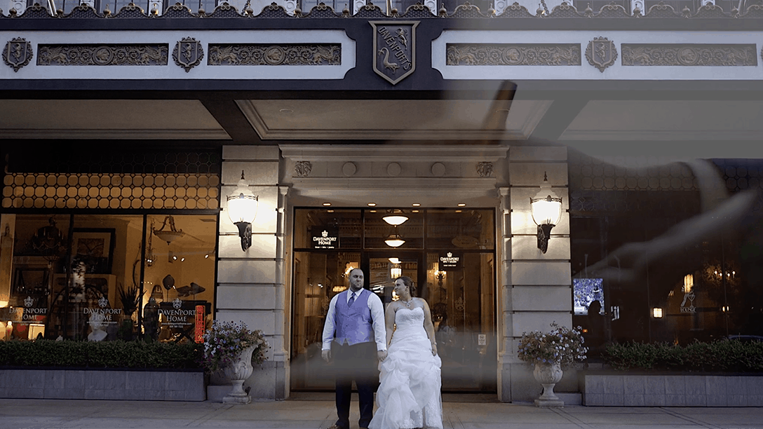 Wedding Video- Front of Hotel
