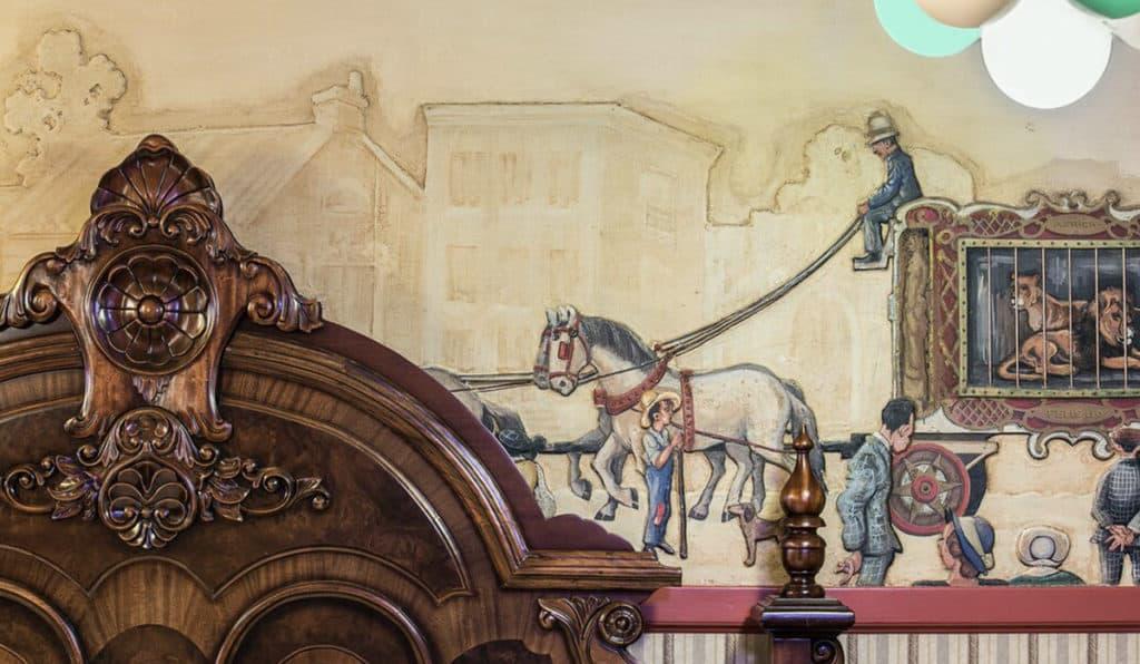 Wall Details | Circus Room | Historic Davenport