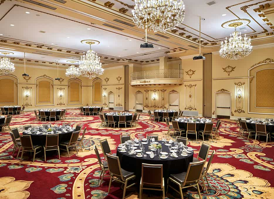 Meeting/Event hall | Tables and Chairs | Davenport HIstory