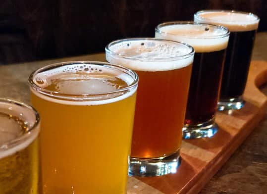 Flight of Beer | Davenport Lusso