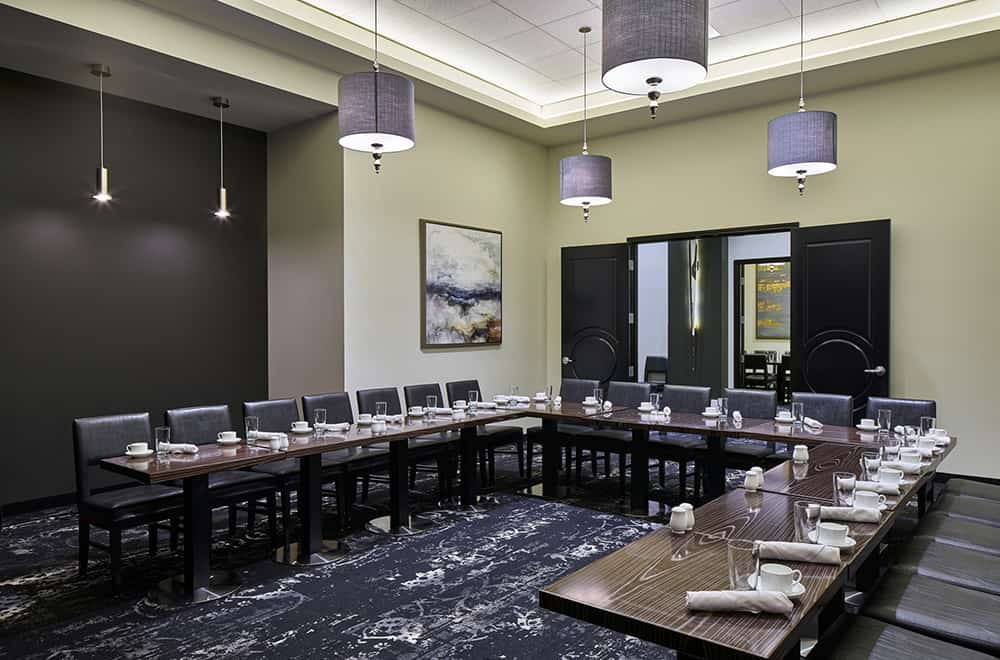 Davenport Grand | Private Dining | U shaped Table