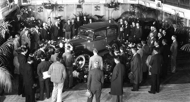Davenport historic car
