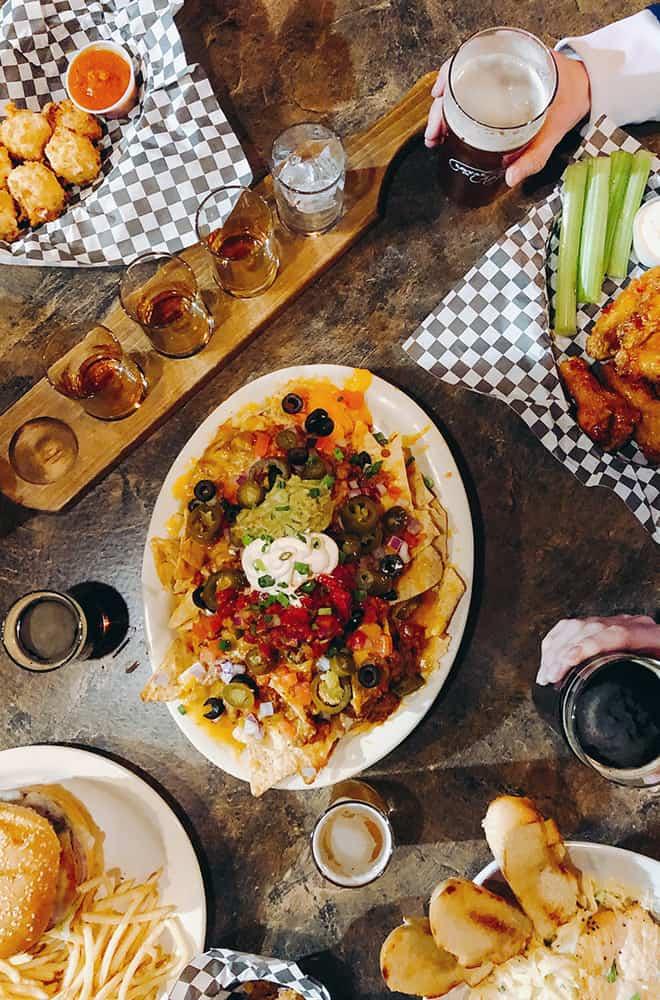 Davenport Lusso | Post Street | Nachos and Drinks