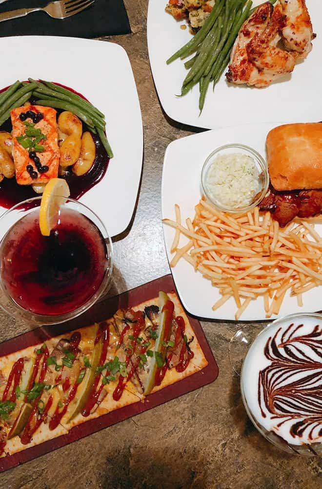 Davenport Tower | Safari Room Food