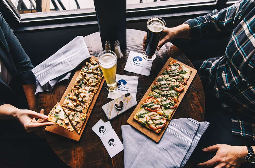 Drinks and Food | Flatbreads | Centennial | Dining