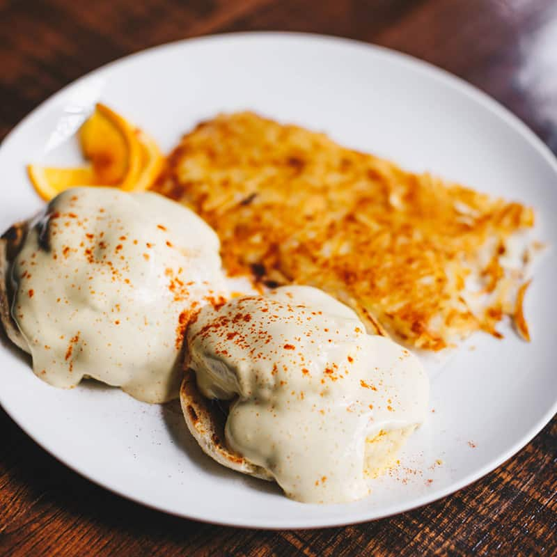 Food | Hashbrowns and Eggs with Gravy | Centennial | Dining