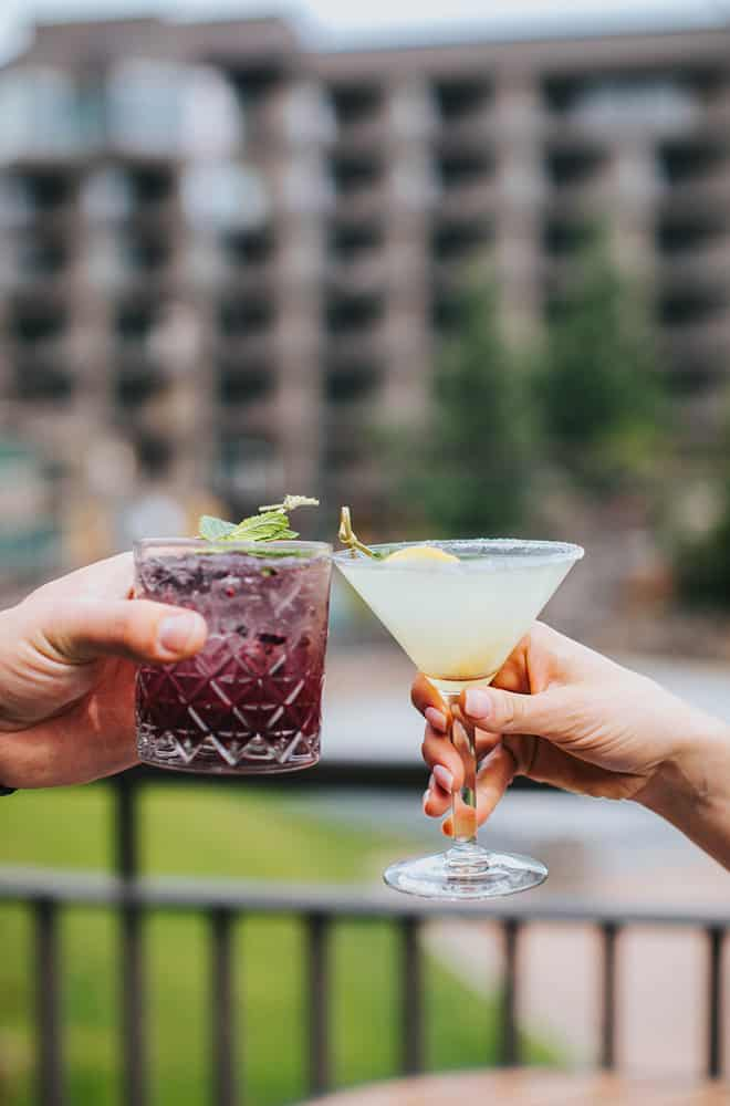 Drinks outside | Cheers | Centennial | Dining