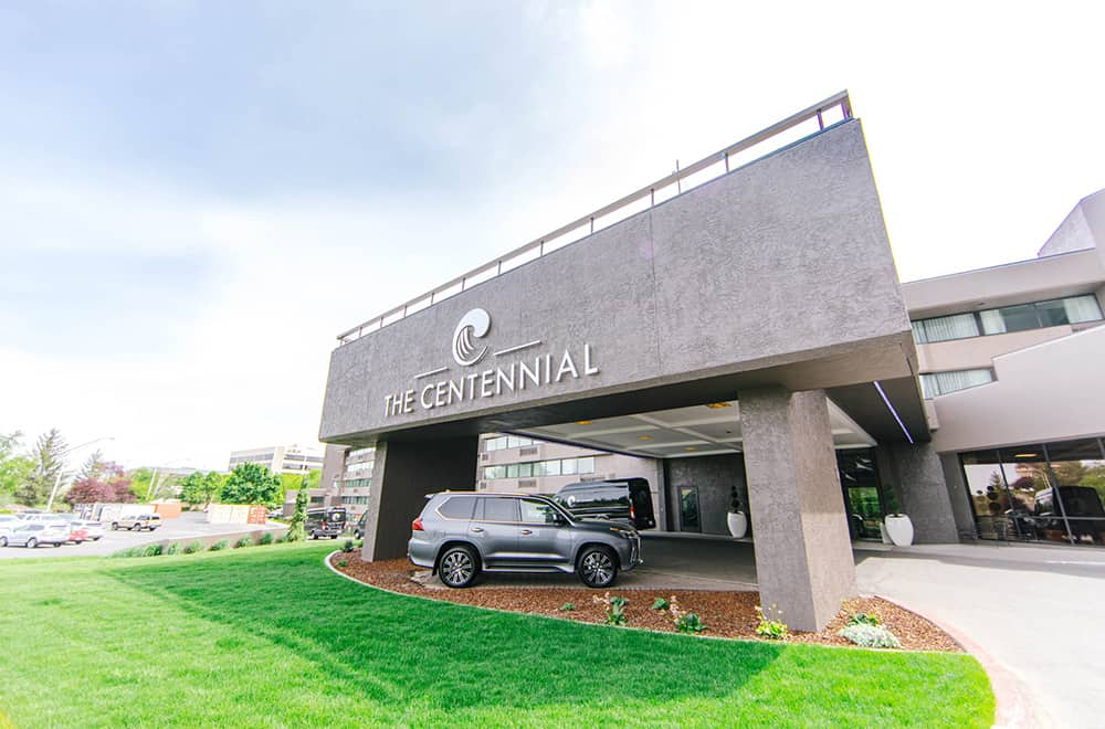 Outside View of Hotel Name | Centennial | Play