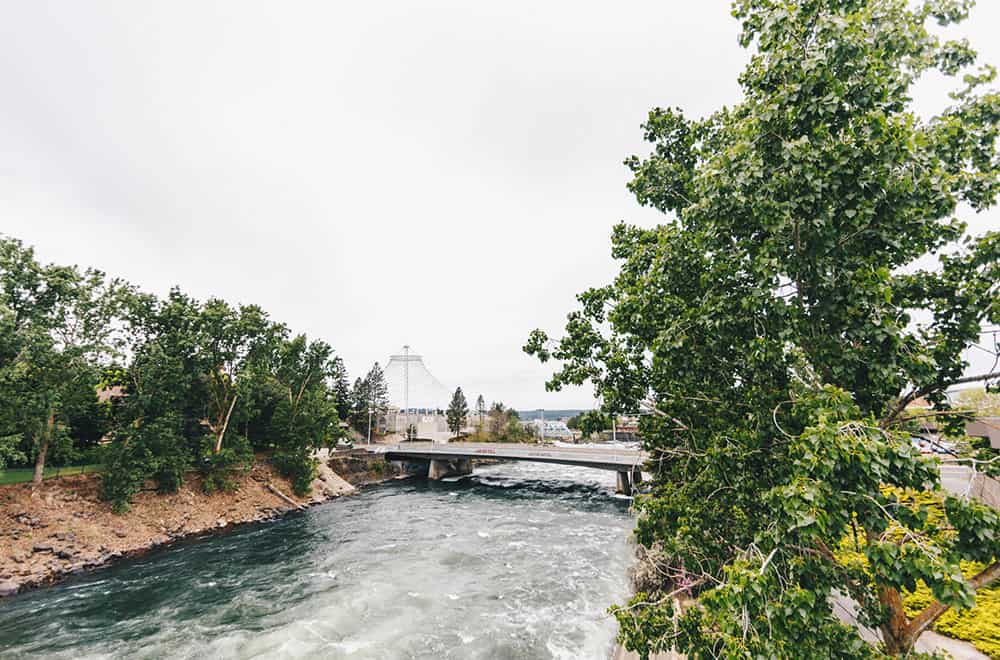 Outside Bridge and Water | Centennial | Play