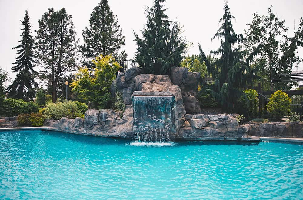 Outside Pool and Waterfall | Centennial | Play