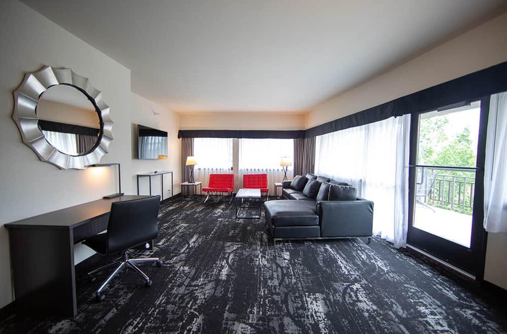 Room | Living area | Centennial Hotel