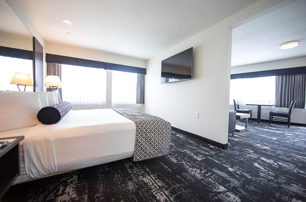 Room | King Bed and Living area | Centennial