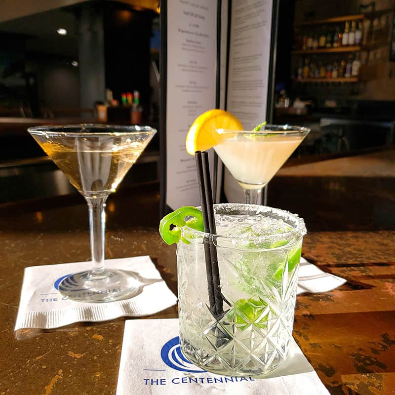 Drinks on Table | Centennial | Dining