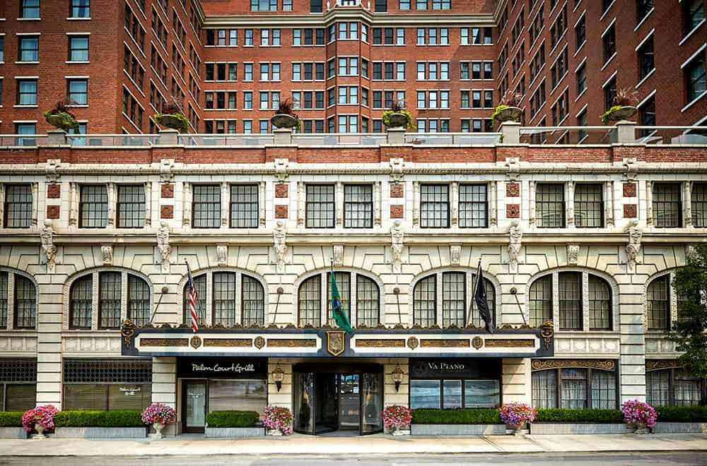 Outside view of hotel | Play | Historic Davenport