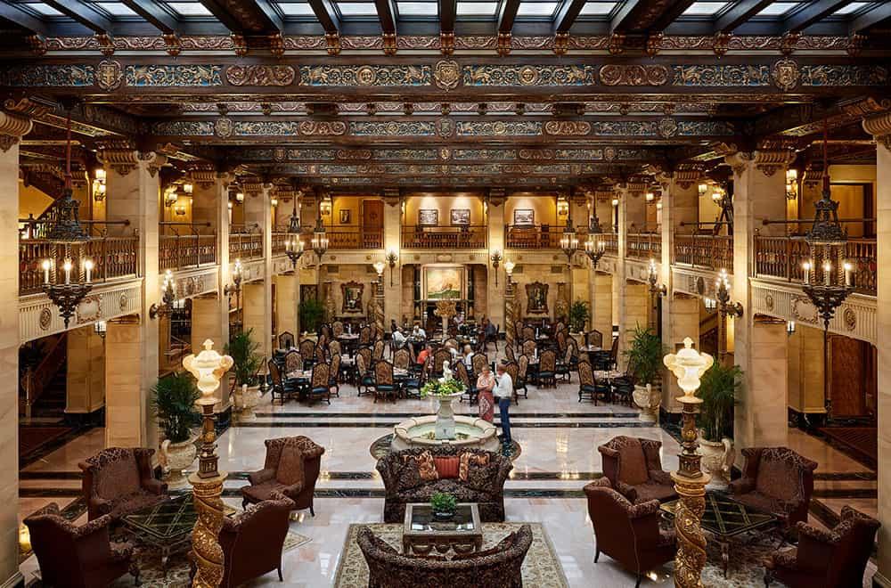 Common Area in Lobby | Play | Historic Davenport