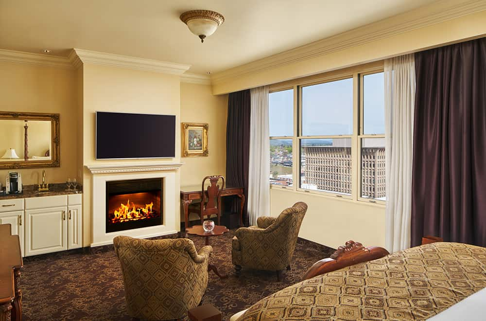 View of living area | Rooms | Historic Davenport