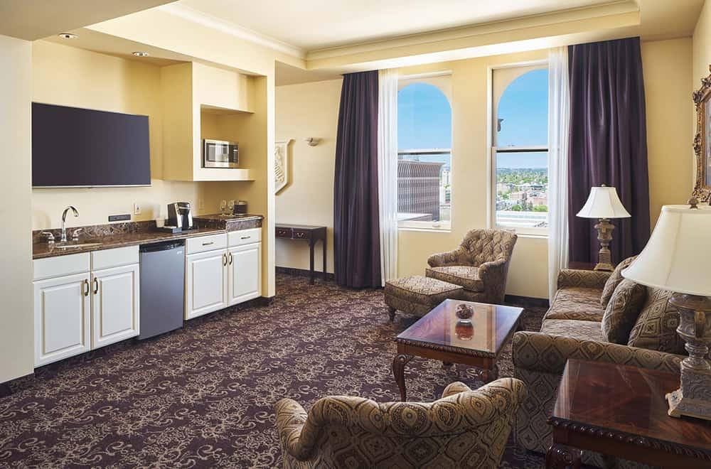 Living area | Rooms | Historic Davenport