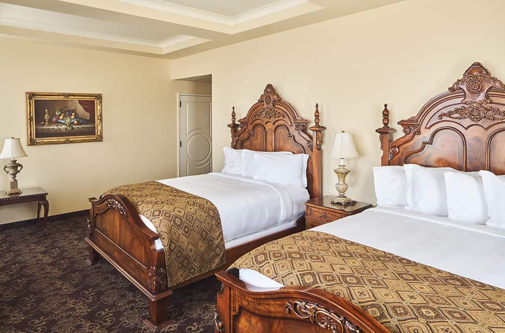 Two Queen Beds | Rooms | Historic Davenport